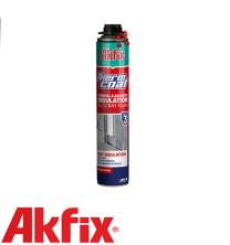 Akfix Therm Coat isolatieschuim 850ml (per bus) Purschuim / lijmen